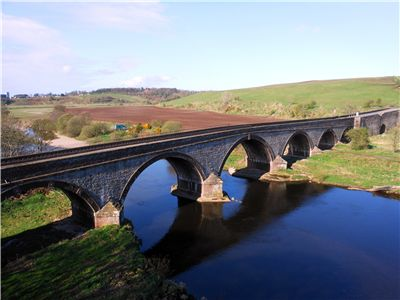 Picture Of Bridge Over The River North Esk
