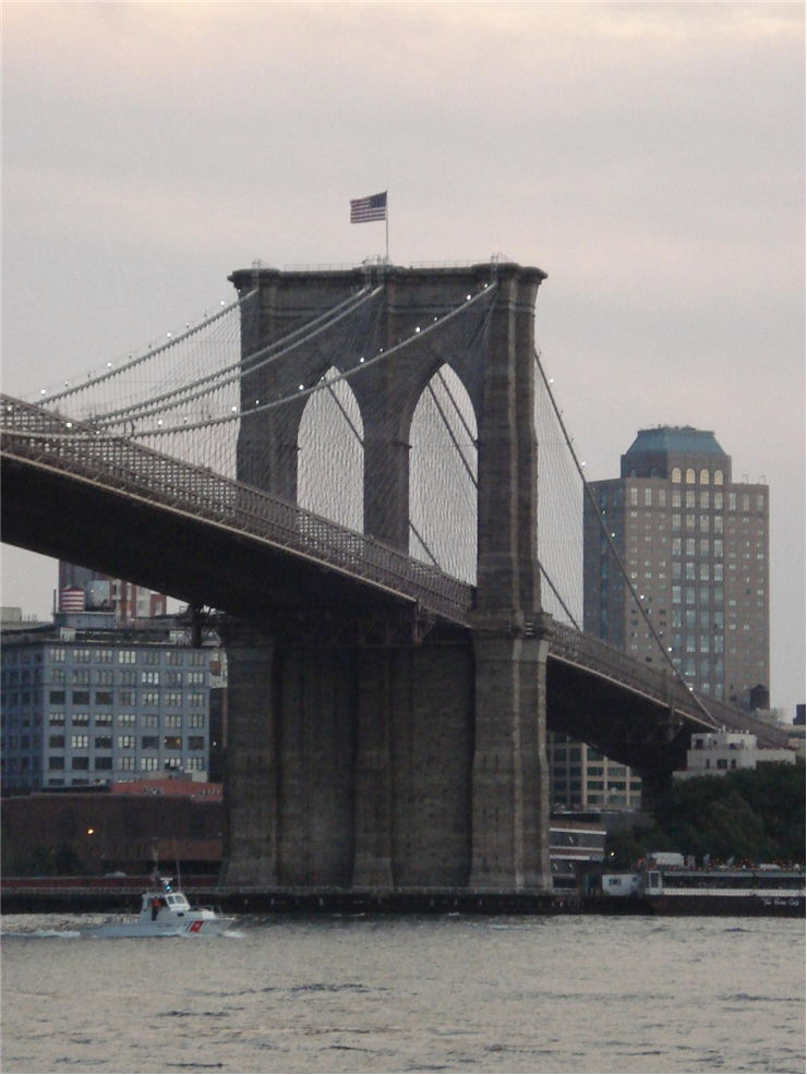 Picture Of Brooklyn Bridge From Manhattan New York