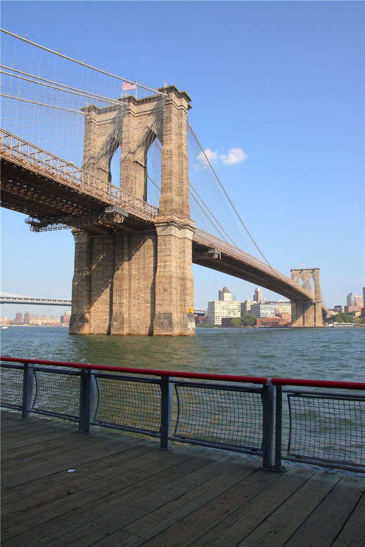 Picture Of Brooklyn Bridge New York