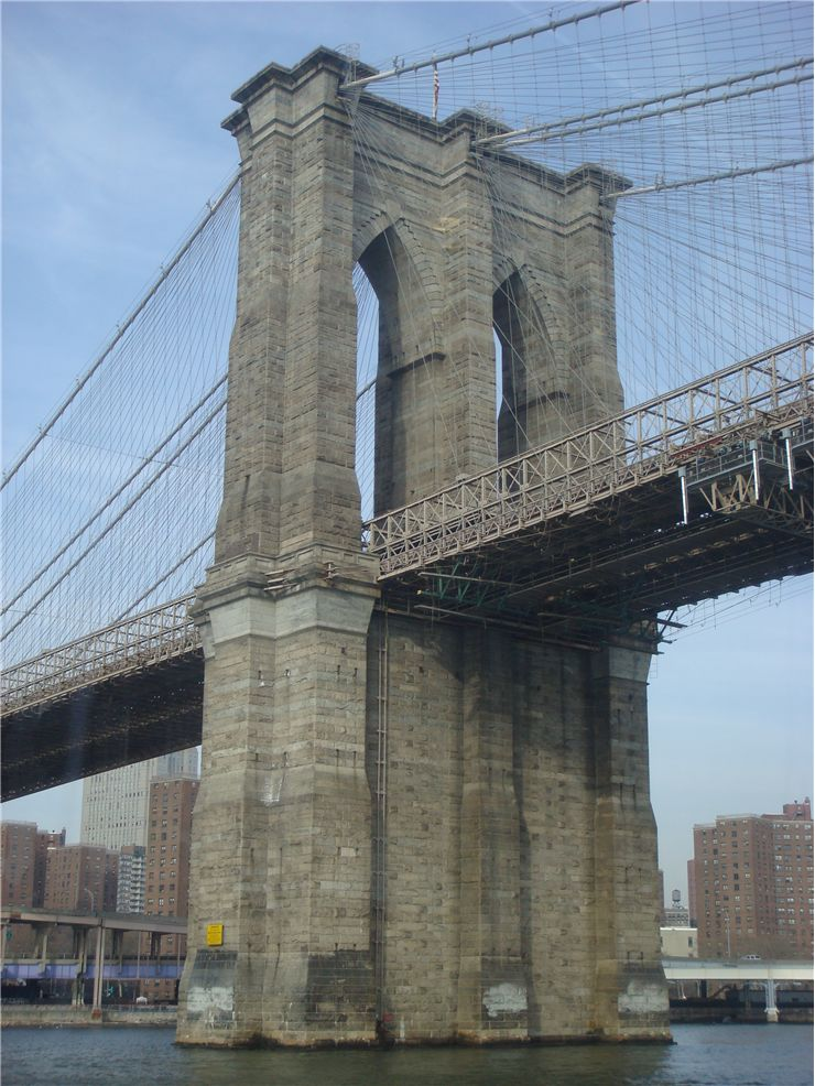 Picture Of Brooklyn Bridge Water Front