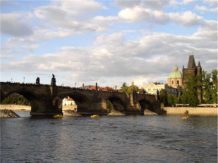 Picture Of Charles Bridge Prague