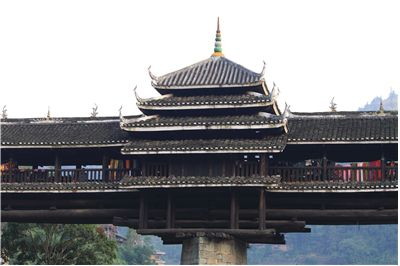 Chengyang Bridge West Close View