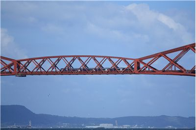 Picture Of Forth Rail Bridge In Schotland