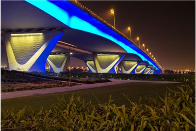 Picture Of Garhoud Bridge In Dubai