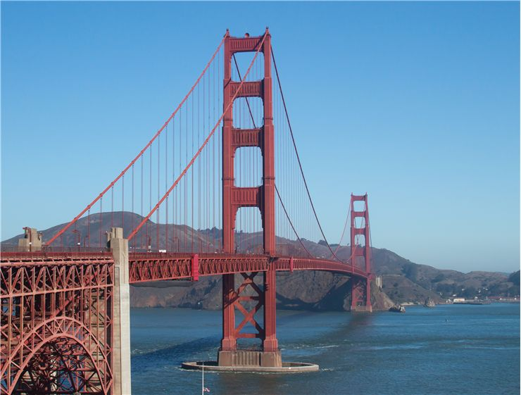 Picture Of Golden Gate Bridge Landmark