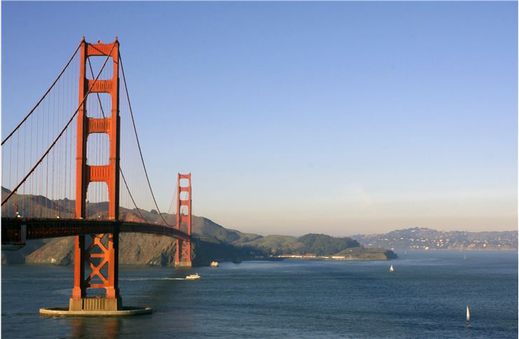 Picture Of Golden Gate Bridge San Francisco