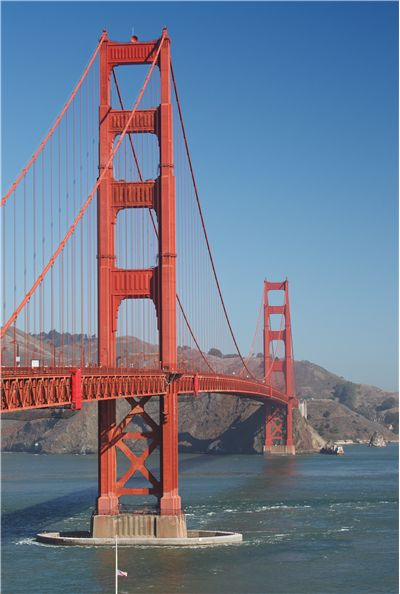 Picture Of Golden Gate Bridge Suspension Bridge