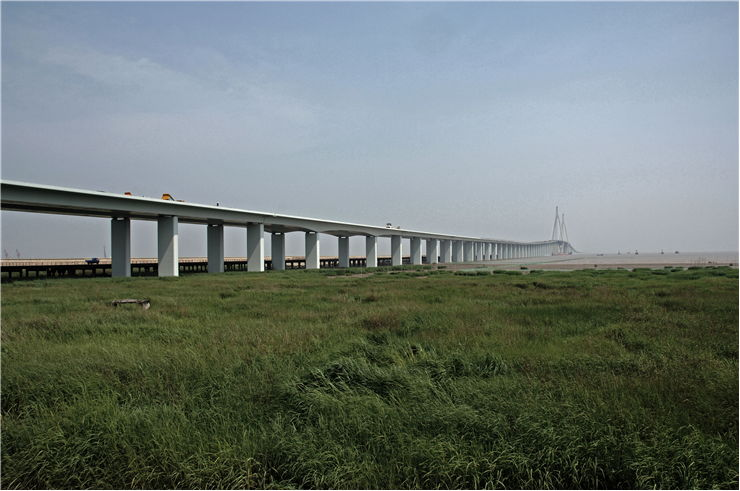 Picture Of Hangzhou Bay Bridge