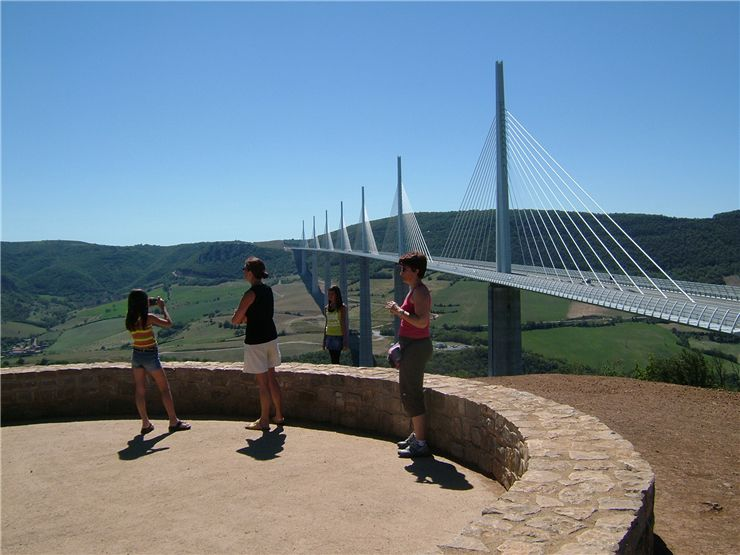 Millau Viaduct Side View