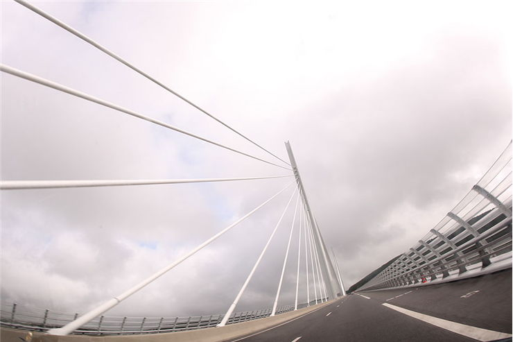 Millau Viaduct Toll Bridge