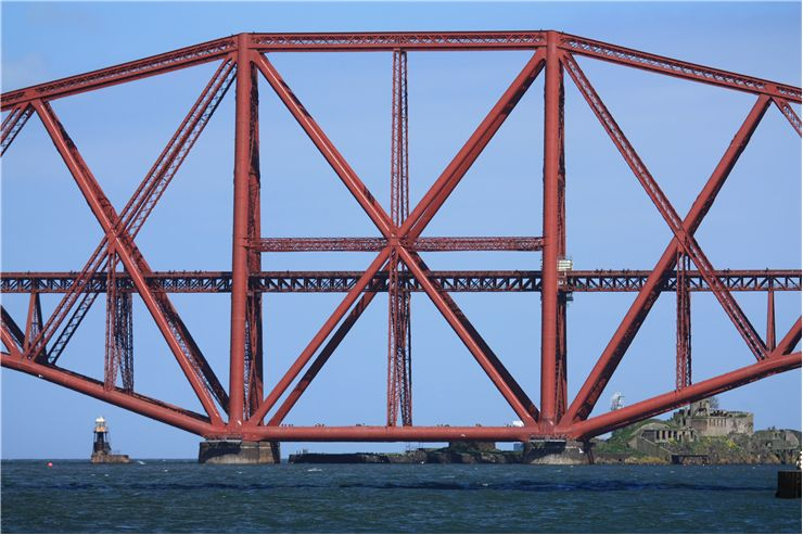 Picture Of Part Of Forth Rail Bridge