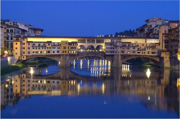 Picture Of Ponte Vecchio In Florence