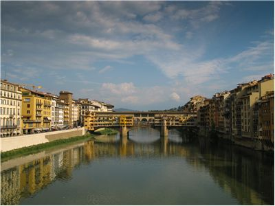 Picture Of Ponte Vecchio Medieval Bridge