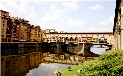 Picture Of Ponte Vecchio The Italian Old Bridge