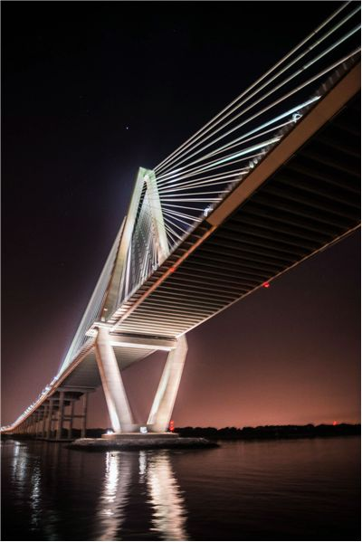 Picture Of Ravenel Bridge In Charleston Cooper River Bridge