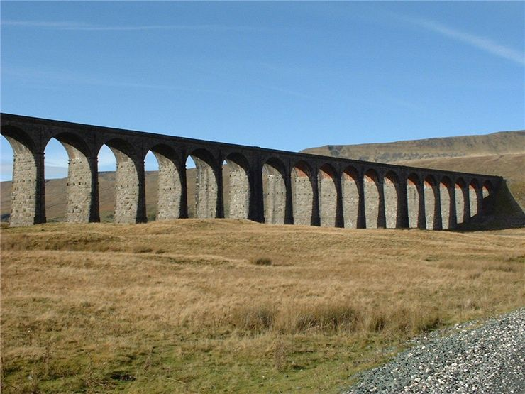Picture Of Ribblehead Viaduct The Settle Carlisle Railway