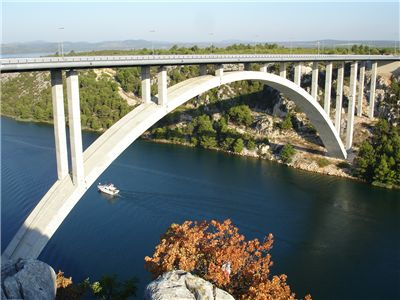 Picture Of Skradin Bridge In Croatia