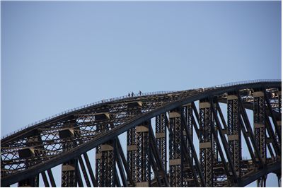 Picture Of Sydney Harbour Bridge Climbing
