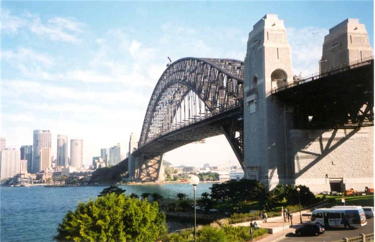 Picture Of Sydney Harbour Bridge Different Angle