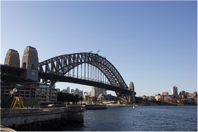 Picture Of Sydney Harbour Bridge Down Under