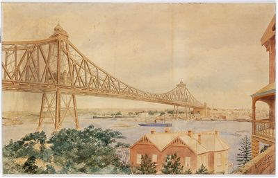 Sydney Harbour Bridge Norman Selfe Proposal