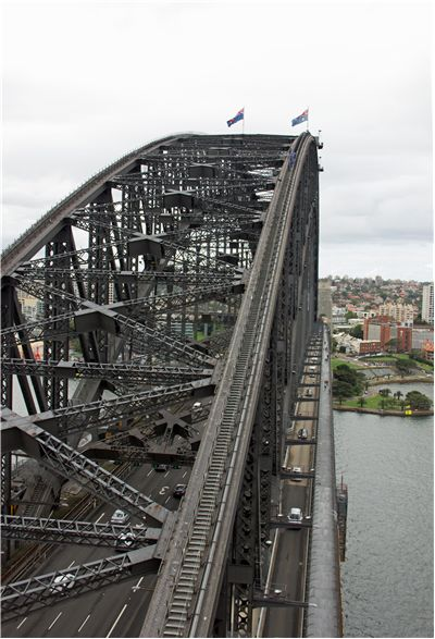 Picture Of Sydney Harbour Bridge Top