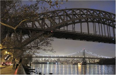 Sydney Harbour Hell Gate Fro Astoria Park
