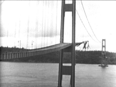 Picture Of Tacoma Narrows Bridge Collapsed