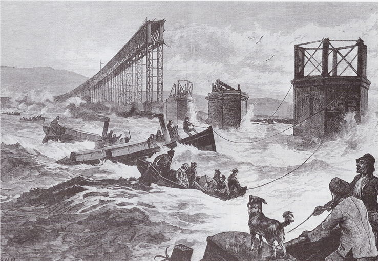 Picture Of Tay Bridge Disaster