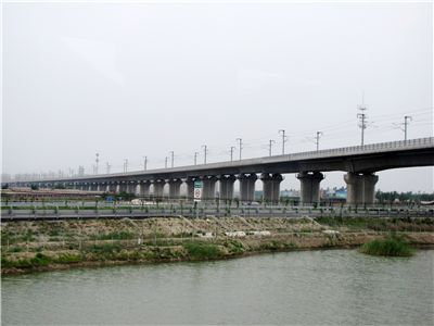 Picture Of Tianjin Grand Bridge