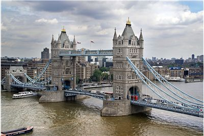 Picture Of Tower Bridge And Ships And Boats
