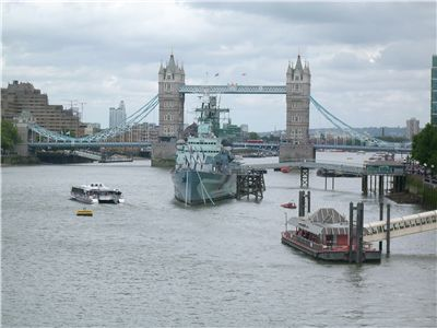 Picture Of Tower Bridge At Rainy Day