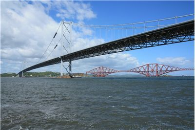 Picture Of Two Forth Bridges