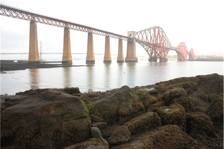 Picture Of View Of The Forth Rail Bridge